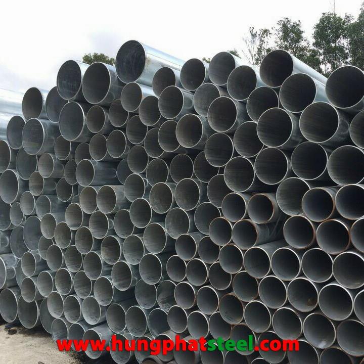 Ống thép mạ kẽm size lớn nhập khẩu