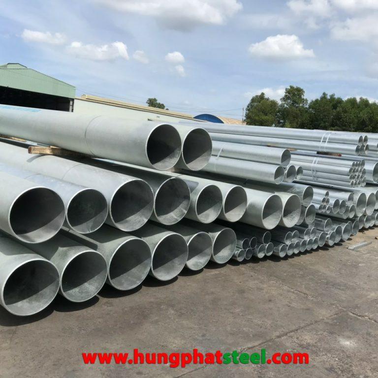 ống thép đúc mạ kẽm A53/106 SCH80